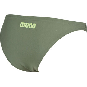 arena Solid Bottom Dame army-shiny green